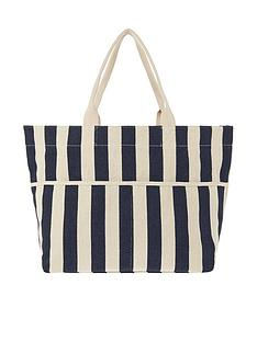 accessorize-woven-stripe-tote-bag-navy