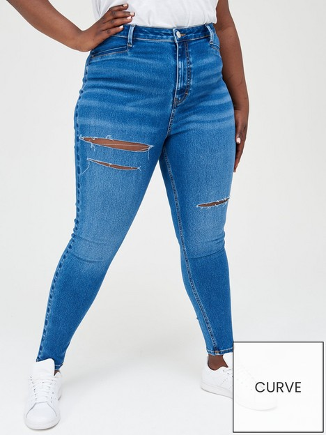 v-by-very-curve-high-waisted-skinny-jean-mid-blue-wash