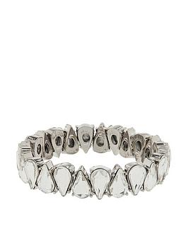 accessorize-blingy-pear-stretch-bracelet