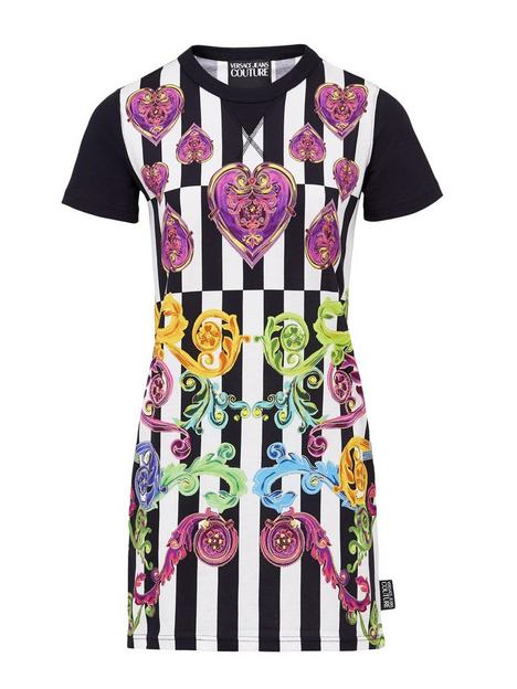 versace-jeans-couture-womenrsquosnbspbaroque-jewel-and-stripe-print-t-shirt-dress-ndash-multicolour