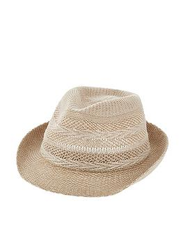 accessorize-chevron-packable-trilby-natural