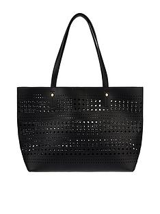 accessorize-punch-out-shopper-black