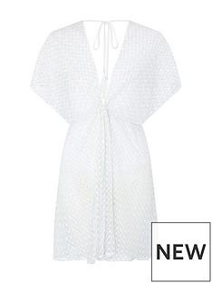 accessorize-shimmer-lace-twist-kaftan-white