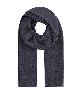 accessorize-all-over-metallic-scarf-navy