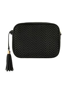accessorize-aztec-textile-camera-bag-black