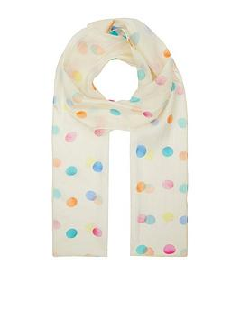 accessorize-rainbow-spot-silk-classic-scarf-multi
