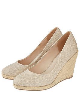 monsoon-ella-espadrille-wedge-shoe-gold