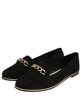 accessorize-chain-detail-loafers-black
