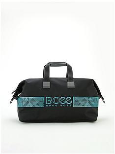 boss-pixel-logo-holdall-bag