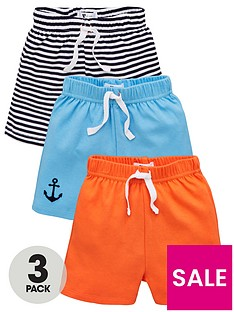 v-by-very-baby-boys-3-pack-nautical-shorts-multi