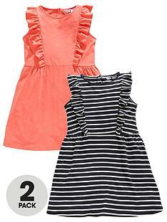 v-by-very-girls-2-pack-sleevelessnbspruffle-dresses-multi