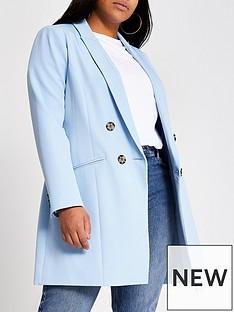 ri-plus-longline-blazer-blue