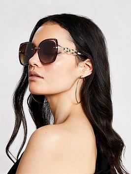 river-island-river-island-tort-suspended-lens-sunglasses-tortoishell