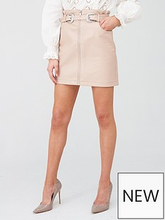 river-island-river-island-western-belt-pu-mini-skirt