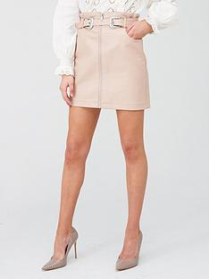 river-island-western-belt-pu-mini-skirt