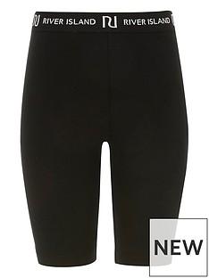 river-island-girls-waistband-cycling-shorts-black