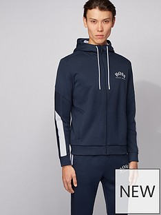 boss-saggy-chest-logo-zip-thru-hoodie-navy