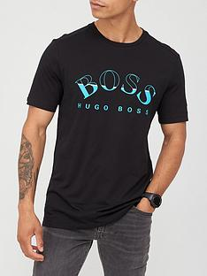 boss-curved-large-mixed-logo-t-shirt-black