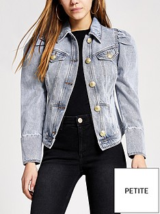 ri-petite-puff-sleeve-denim-jacket