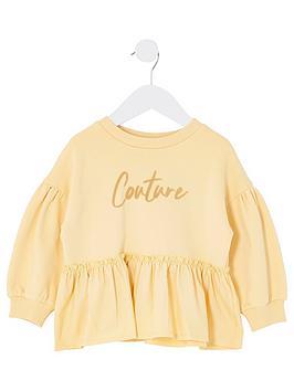 river-island-mini-mini-girls-couture-frill-sweat-yellow