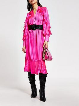 river-island-ruffle-shirt-midi-dress-pink