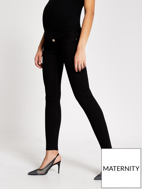 river-island-maternity-over-bump-molly-jeggings-black
