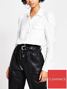 river-island-lurex-trim-shirt-white