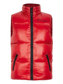 river-island-boys-prolific-padded-gilet-red