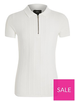 river-island-boys-stitched-knitted-polo-shirt--nbspwhite