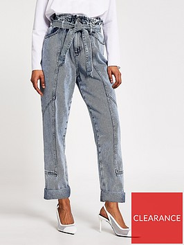 ri-petite-paperbag-mom-jeans-grey