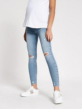 river-island-river-island-maternity-over-bump-molly-jegging-light-blue