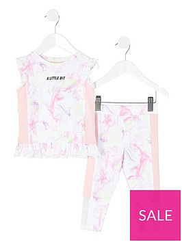 river-island-mini-girls-active-fearless-legging-and-frill-top-set--nbspwhite