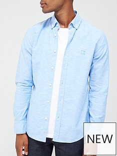 boss-mabsoot1-oxford-shirt-light-blue