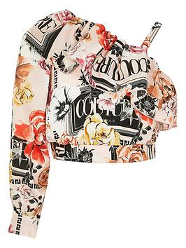 river-island-girls-printed-one-shoulder-cropped-top-pink