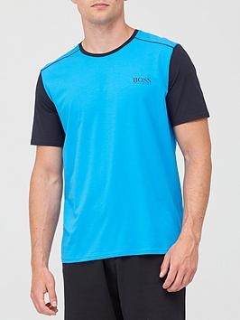 boss-bodywear-balance-round-neck-t-shirt-blue