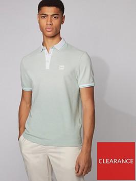 boss-partey-contrast-collar-polo-shirt-green