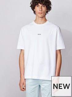 boss-tchup-centre-logo-t-shirt-white