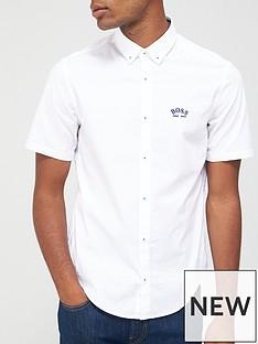 boss-biadia_r-short-sleeved-oxford-shirt-white