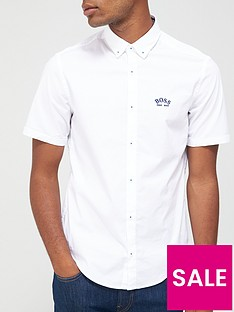boss-biadia_r-short-sleeved-oxford-shirt-white