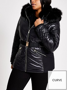 ri-plus-belted-padded-coat-black