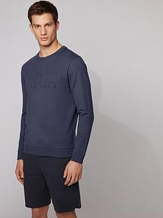 boss-bodywear-heritage-embossed-sweatshirt-navy