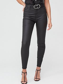 river-island-high-rise-hailey-coated-skinny-jean-black