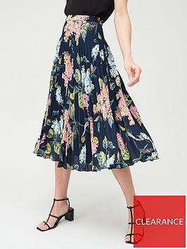 oasis-floral-print-pleated-midi-skirt-multi