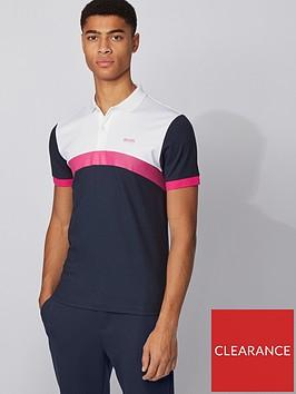 boss-paule-3-colour-block-polo-shirt-navy