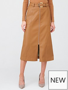 river-island-river-island-zip-through-belted-midi-skirt