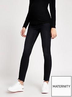 river-island-maternity-over-bump-amelie-skinny-jeans-black