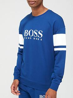 boss-bodywear-authentic-loungenbspsweatshirt-blue