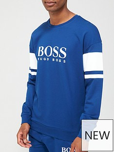boss-bodywear-authentic-loungenbspsweatshirt-blue