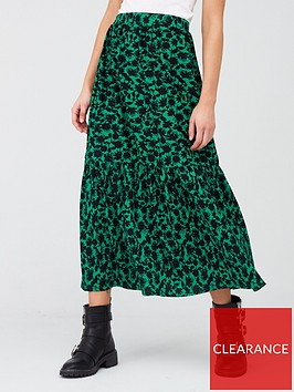 river-island-printed-tiered-jersey-midaxi-skirt-green