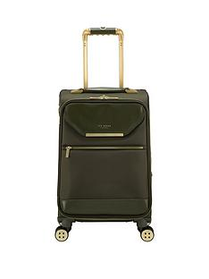 ted-baker-albany-small-4-wheel-suitcase-olive